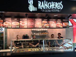 Mexická restaurace Rancheros Praha - OC DBK